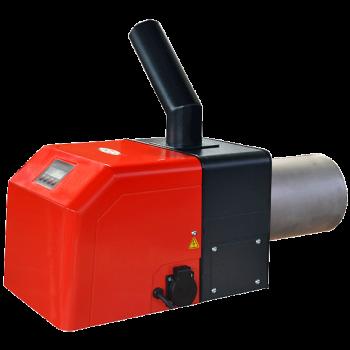 Ротационна тубусна пелетна горелка GreenEcoTherm GP xx R tsc